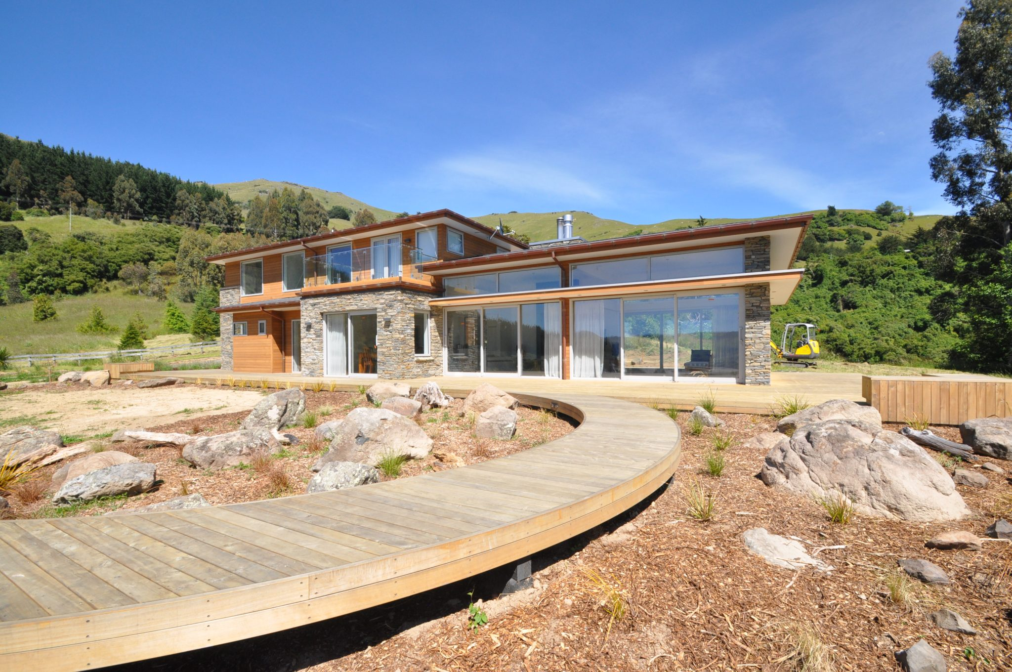 Where eco-friendly function meets award winning architectural form